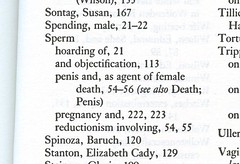 You know it's an Andrea Dworkin index when ...