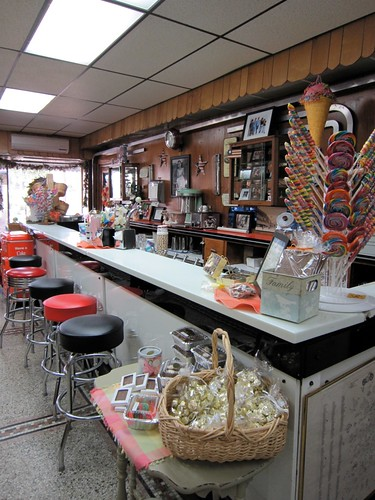 Dunmore Candy Kitchen Ice Cream Counter