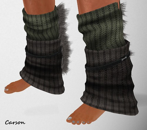 MHOH4 # 134 - Connors Clothing Store Wool Dark Legwarmers  MHOH4 # 136 - ~~Tangled~~Exxxquisite Bare Feet (2)