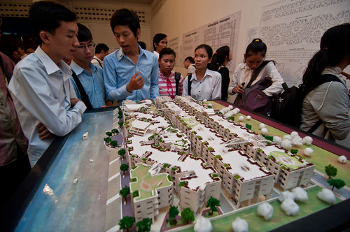 Maquette by Khmer architecture students