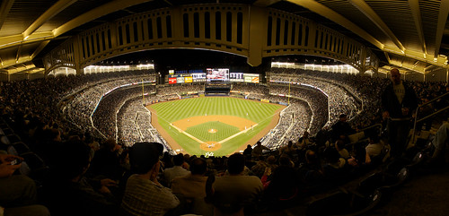 Yankee Stadium Panorama (click through to Flickr to see the full sized image)