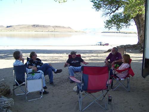 THE GROUP AT LAKE LAHOTON