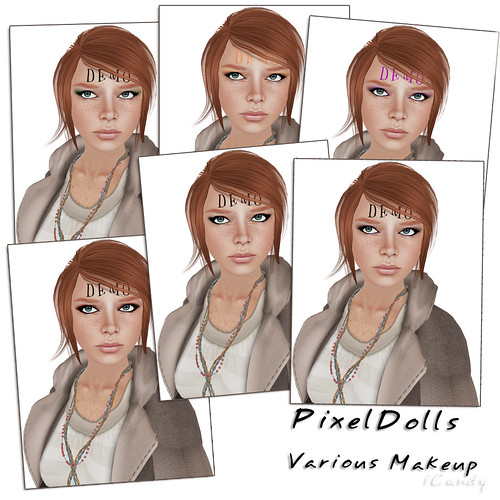 Makeup Demos - PixelDolls