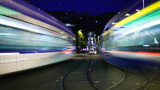 Between Railtracks