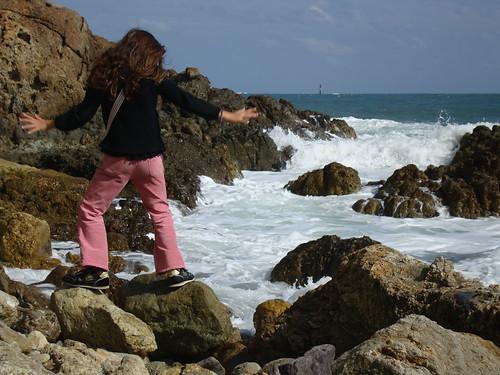 Warten auf die Welle