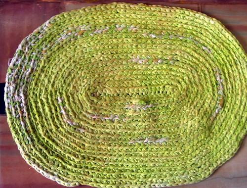 Crochet - SariYarn Doormat1