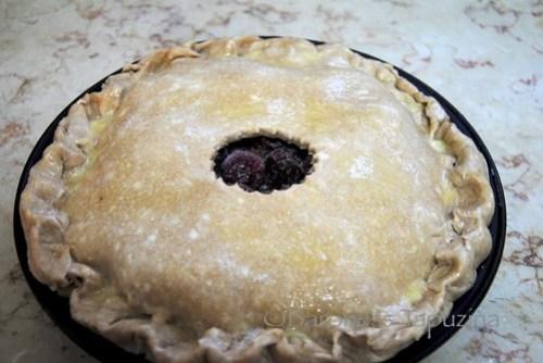 Spelt Cherry Pie