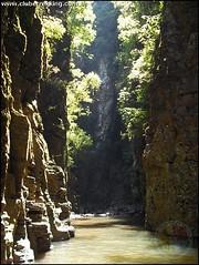156ª Trilha: Cânion da Piruva, Cachoeiras das Pedras Pretas e dos Degraus - Ivorá RS. 27/11/2010