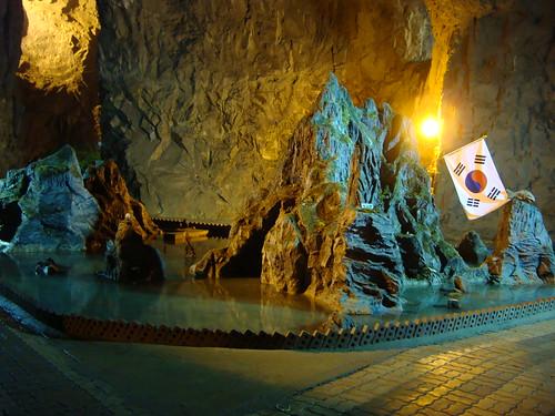 Dokdo in der Höhle