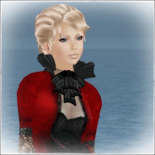 Hatpins - Lady Sophia Wig