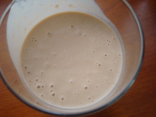Peanut Butter Banana and Honey Smoothie