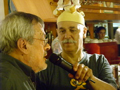 Jose Munoz riceve il  Premio U'Giancu