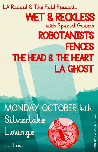 ROBOTANISTS @ Silverlake Lounge / Los Angeles, CA / 10.4.2010