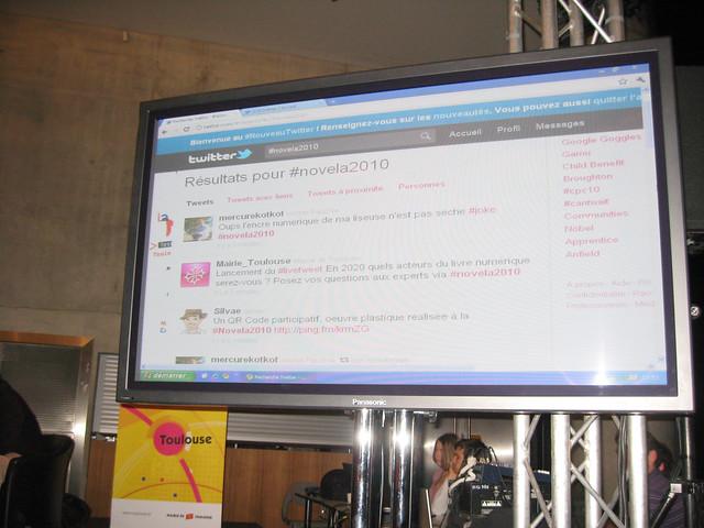 #Novela 2010 Grand débat Livre numérique : en 2020, quels acteurs du livre numérique serez-vous ? © gaelle kermen 2010