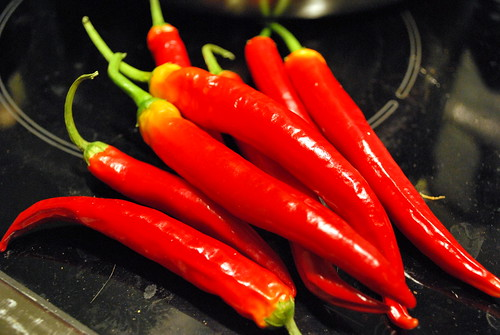 chilies from my plant