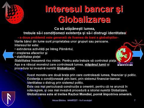 Globalzarea si interesul bancar