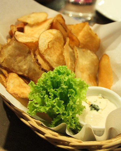 Potato Chips at Goodfellas Steaks and Burgers
