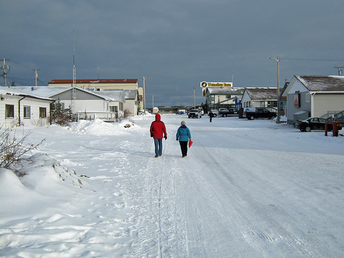 A street in Churchill