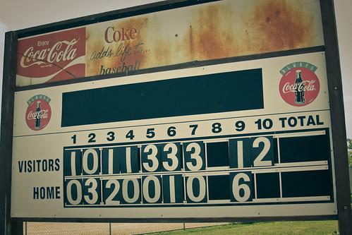 {206/365} retro scoreboard
