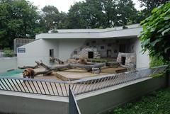 Braunbärenanlage im Tiergarten Mönchengladbach