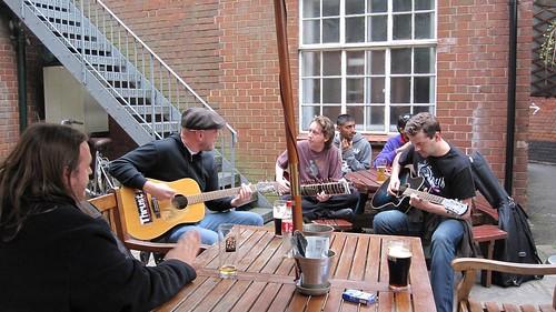 Jamming in the garden