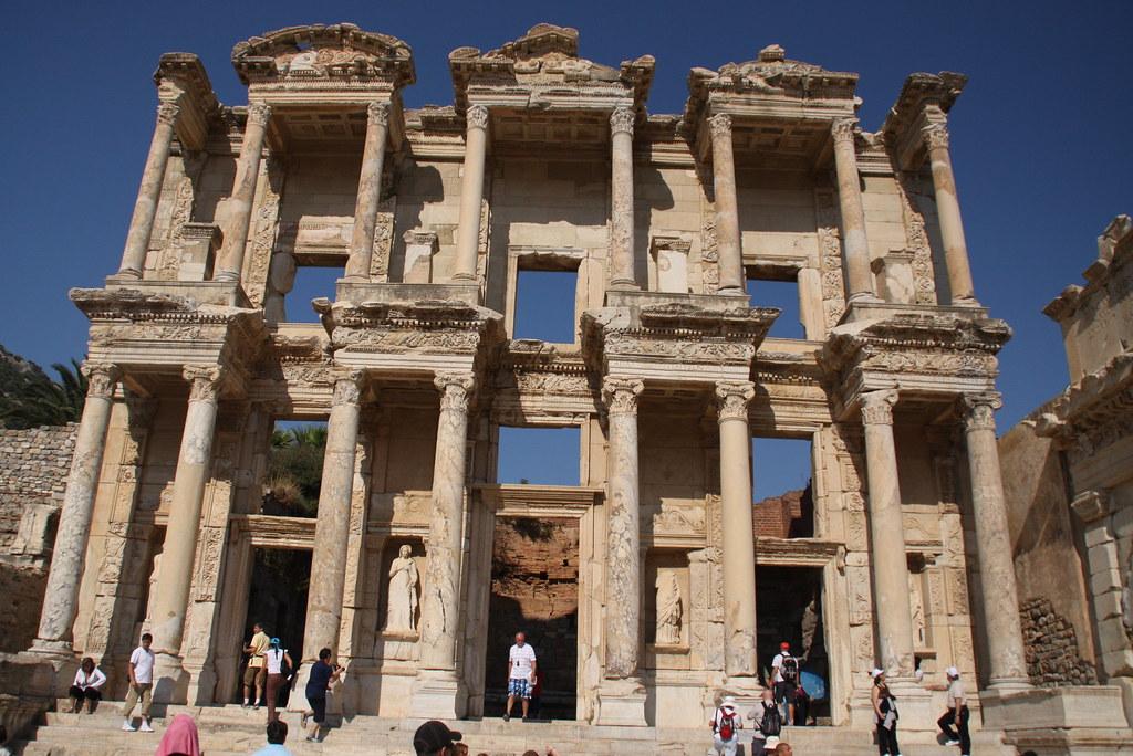 Celsus Kütüphane Efes'te