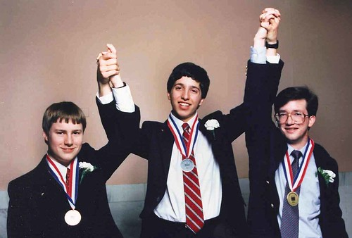 STS 1989 Top Three Winners