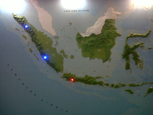 Peta Gunung Berapi di Dunia