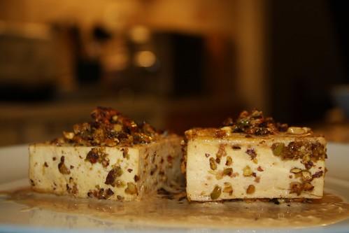 Pistachio-Crusted Tofu with Ponzu