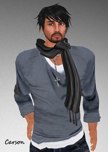 MHOH4 # 140 - GABRIEL Drape Shirt and Stole