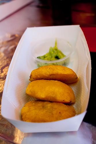 Colombian Empanadas & Guacamole