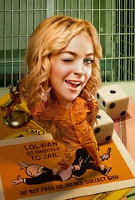 Jailbird Lindsay Lohan