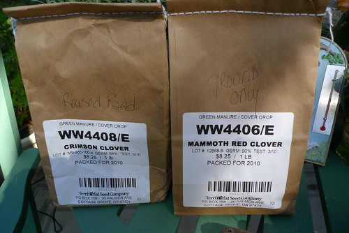 Green Manure for Beds and Ground