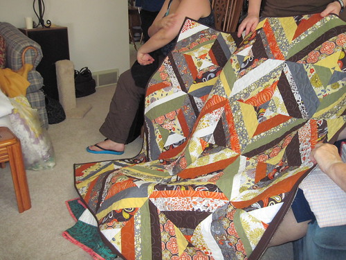 Karrie's Autumn Strings quilt