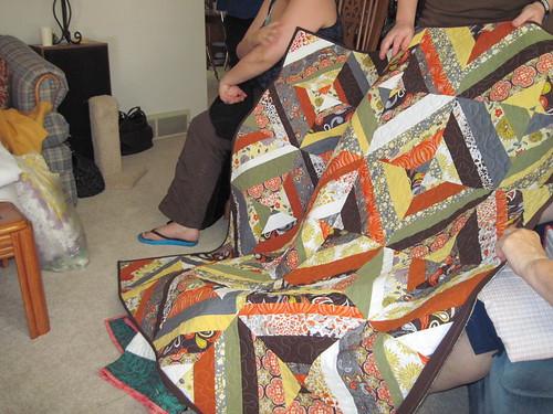 Karrie's Autumn Strings quilt