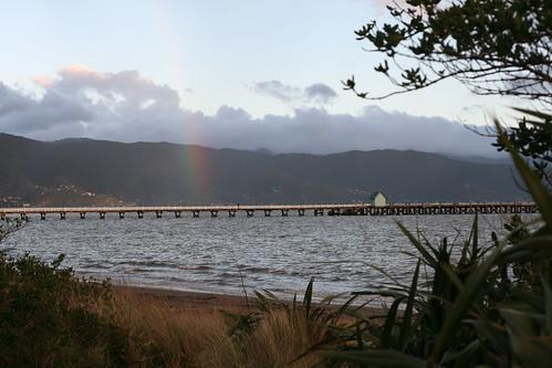 Wednesday: Rainbow over Petone