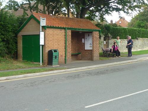 Robin Hood's Bay bus stop