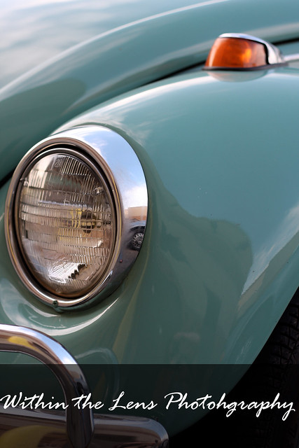 car, vw, vintage car, blue, photography, within the lens