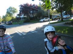 bike pool to soccer practice