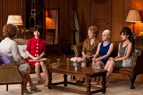 Miranda Richardson, Sally Hawkins, Geraldine James, Jaime Winstone and Andrea Riseborough in Made In Dagenham