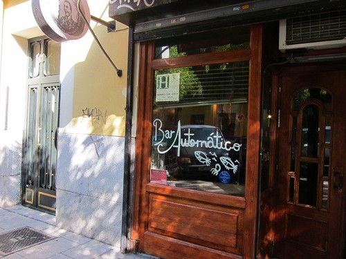 Bar Automático. Calle Argumosa