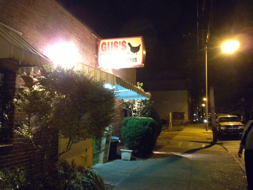 The BEST fried chicken! Gus's in Memphis