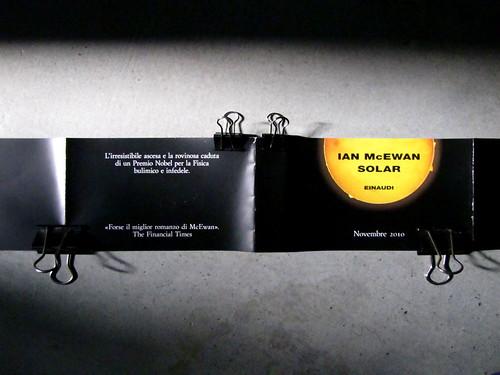 Espiazione e L'inventore dei sogni di Ian McEwan, Einaudi: bandella pubblicitaria [2010] (part.)