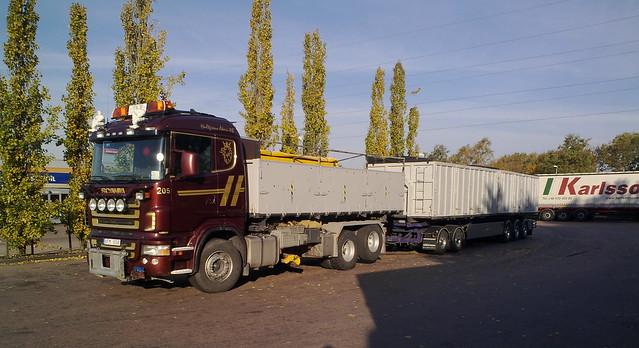 Swedish Overlength Truck