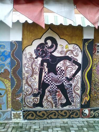 wayang mural
