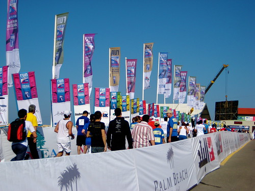 the finish line for the 10K