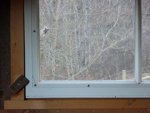 Plexi window upstairs