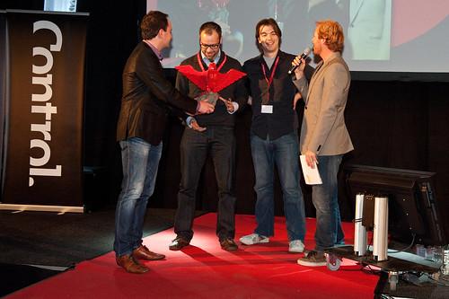 Award ceremony Dutch Game Awards 2010
