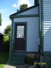 Original rear porch, enclosed
