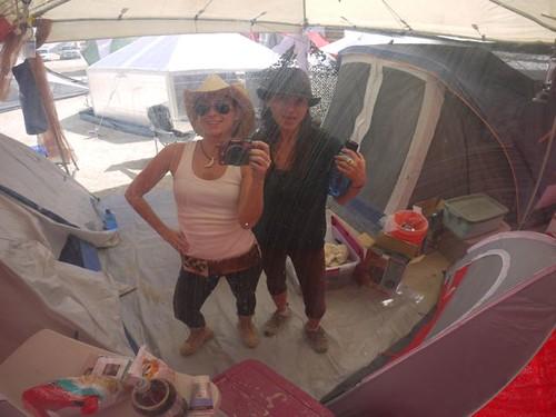 Burning Man Camp Girls